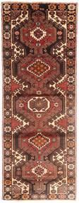 ハマダン 絨毯 113X290 オリエンタル 手織り 廊下 カーペット 深紅色の/濃い茶色 (ウール, ペルシャ/イラン)