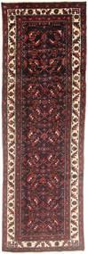 Hamadan Matto 97X310 Itämainen Käsinsolmittu Käytävämatto Tummanpunainen/Tummanruskea (Villa, Persia/Iran)