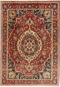 Bakhtiar Teppe 210X310 Ekte Orientalsk Håndknyttet Mørk Rød/Lysbrun (Ull, Persia/Iran)