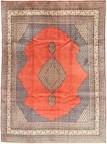 Sarough Matto 230X320 Itämainen Käsinsolmittu Oranssi/Vaaleanpunainen (Villa, Persia/Iran)
