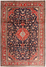 Lillian Rug 225X328 Authentic Oriental Handknotted Brown/Dark Purple (Wool, Persia/Iran)