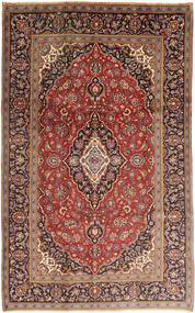 Keshan Rug 203X320 Authentic  Oriental Handknotted Dark Red/Brown (Wool, Persia/Iran)