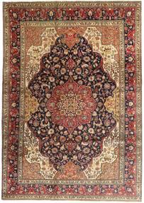 Tabriz Rug 247X345 Authentic  Oriental Handknotted Light Brown/Dark Brown (Wool, Persia/Iran)
