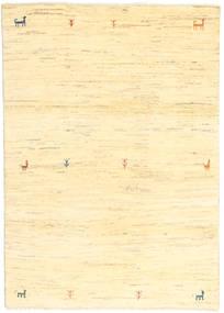 Gabbeh Persia Matto 114X162 Moderni Käsinsolmittu Keltainen/Beige (Villa, Persia/Iran)