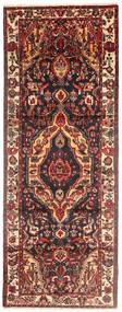 Bakhtiar Matta 112X303 Äkta Orientalisk Handknuten Hallmatta Brun/Mörkröd (Ull, Persien/Iran)