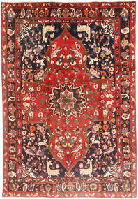 Bakhtiari Rug 205X290 Authentic  Oriental Handknotted Rust Red/Brown (Wool, Persia/Iran)
