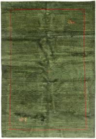 Gabbeh Persia Teppe 200X291 Ekte Moderne Håndknyttet Olivengrønn/Mørk Grønn (Ull, Persia/Iran)
