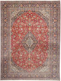 Kashmar Patina Rug 290X390 Authentic  Oriental Handknotted Light Brown/Rust Red Large (Wool, Persia/Iran)