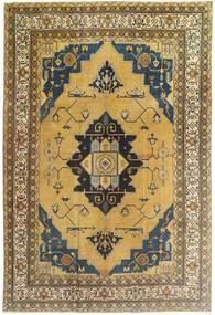 Hamadan Patina Rug 240X355 Authentic  Oriental Handknotted Light Brown/Olive Green (Wool, Persia/Iran)