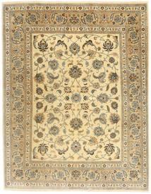 Kashmar Patina Teppich 195X250 Echter Orientalischer Handgeknüpfter Hellbraun/Gelb (Wolle, Persien/Iran)