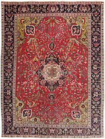 Tabriz Patina Teppe 292X385 Ekte Orientalsk Håndknyttet Mørk Rød/Mørk Blå Stort (Ull, Persia/Iran)