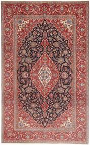 Keshan Patina Tæppe 205X335 Ægte Orientalsk Håndknyttet Mørkerød/Brun (Uld, Persien/Iran)