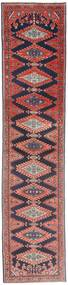 Wiss Patina Teppe 87X387 Ekte Orientalsk Håndknyttet Teppeløpere Mørk Lilla/Mørk Beige (Ull, Persia/Iran)