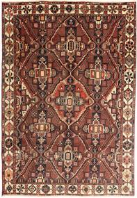 Bakhtiari Rug 205X300 Authentic Oriental Handknotted Dark Red/Brown (Wool, Persia/Iran)