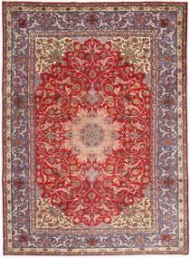 ナジャファバード 絨毯 267X370 オリエンタル 手織り 深紅色の/薄茶色 大きな (ウール, ペルシャ/イラン)