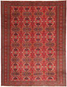 Turkaman Rug 302X398 Authentic  Oriental Handknotted Dark Red/Brown Large (Wool, Persia/Iran)
