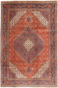 Tabriz Rug 202X305 Authentic  Oriental Handknotted Brown/Dark Red (Wool, Persia/Iran)