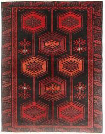 Loribaft Persia Rug 130X170 Authentic  Modern Handknotted Dark Red (Wool, Persia/Iran)