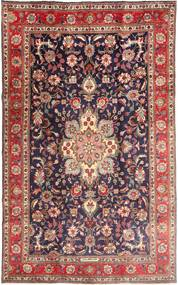 Tabriz Rug 190X315 Authentic  Oriental Handknotted Dark Purple/Dark Red (Wool, Persia/Iran)