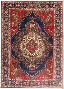 Tabriz Rug 203X290 Authentic  Oriental Handknotted Brown/Dark Purple (Wool, Persia/Iran)