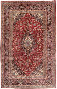 Mashad Matto 210X335 Itämainen Käsinsolmittu Ruskea/Vaaleanruskea (Villa, Persia/Iran)