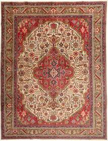 Tabriz Rug 300X395 Authentic  Oriental Handknotted Brown/Dark Red Large (Wool, Persia/Iran)