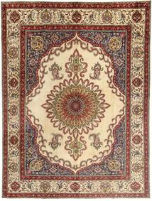 Tabriz Rug 310X400 Authentic  Oriental Handknotted Light Brown/Dark Red Large (Wool, Persia/Iran)