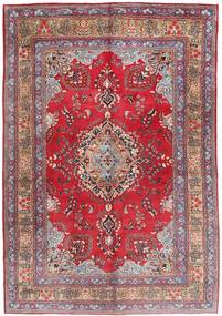 Mashad Rug 203X295 Authentic  Oriental Handknotted Dark Red/Light Pink (Wool, Persia/Iran)