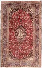 カシャン 絨毯 200X330 オリエンタル 手織り 茶/薄茶色 (ウール, ペルシャ/イラン)