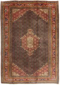 Ardebil Matto 198X280 Itämainen Käsinsolmittu Ruskea/Tummanruskea/Tummanpunainen (Villa, Persia/Iran)