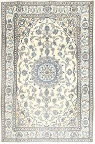 Nain Rug 200X300 Authentic  Oriental Handknotted Beige/Light Grey (Wool, Persia/Iran)
