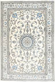 Nain Rug 192X286 Authentic Oriental Handknotted Beige/Light Grey (Wool, Persia/Iran)