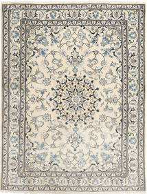 Nain Rug 179X232 Authentic  Oriental Handknotted Light Grey/Beige (Wool, Persia/Iran)