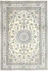 Nain Alfombra 197X290 Oriental Hecha A Mano Beige/Gris Claro (Lana, Persia/Irán)
