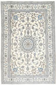 Nain Rug 197X298 Authentic  Oriental Handknotted Beige/Light Grey (Wool, Persia/Iran)