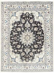 Nain Rug 149X201 Authentic  Oriental Handknotted Beige/Light Grey (Wool, Persia/Iran)