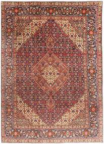 Tabriz Rug 203X291 Authentic  Oriental Handknotted Dark Red/Dark Brown (Wool, Persia/Iran)