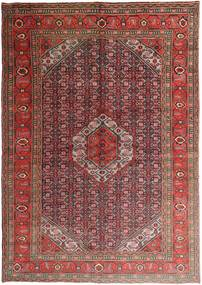 Ardebil Rug 198X282 Authentic  Oriental Handknotted Brown/Dark Brown (Wool, Persia/Iran)