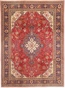 Tabriz Rug 237X340 Authentic  Oriental Handknotted Dark Red/Rust Red (Wool, Persia/Iran)