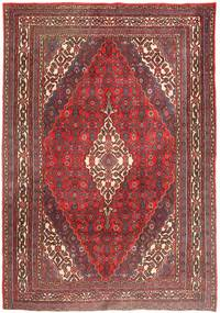 Mahal Rug 215X305 Authentic  Oriental Handknotted Brown/Light Brown (Wool, Persia/Iran)