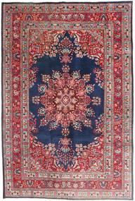 Mashad Rug 193X289 Authentic  Oriental Handknotted Dark Red/Dark Purple (Wool, Persia/Iran)
