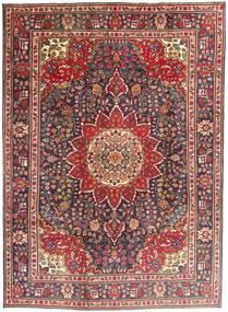 Tabriz Covor 212X292 Orientale Lucrat Manual Roșu-Închis/Maro Închis (Lână, Persia/Iran)
