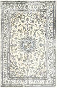 Naïn Tapis 197X303 D'orient Fait Main Beige/Gris Clair (Laine, Perse/Iran)