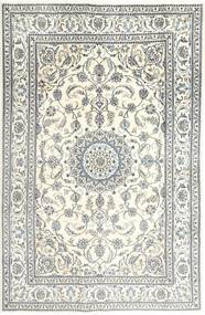 Nain Teppe 197X303 Ekte Orientalsk Håndknyttet Beige/Lys Grå (Ull, Persia/Iran)