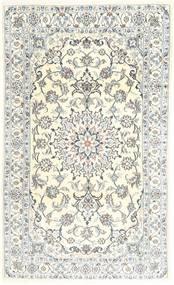 Nain Covor 118X204 Orientale Lucrat Manual Bej/Gri Deschis (Lână, Persia/Iran)