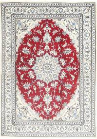 Nain Rug 168X243 Authentic  Oriental Handknotted Beige/Light Grey (Wool, Persia/Iran)