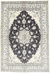 Nain Tappeto 166X242 Orientale Fatto A Mano Grigio Scuro/Beige (Lana, Persia/Iran)