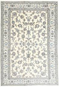 Nain Teppe 194X295 Ekte Orientalsk Håndknyttet Beige/Lys Grå (Ull, Persia/Iran)