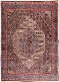 ムード 絨毯 270X370 オリエンタル 手織り 深紅色の/茶 大きな (ウール/絹, ペルシャ/イラン)