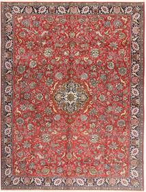 Qum Sherkat Farsh Rug 300X403 Authentic  Oriental Handknotted Light Brown/Dark Red Large (Wool, Persia/Iran)